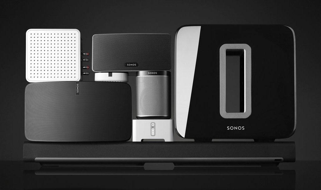 Somos distribuidores SONOS, el sistema inalámbrico de sonido para el hogar